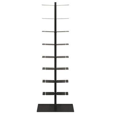 Radius Booksbaum Regal mit Stand schwarz gross - 717 A – Bild 2