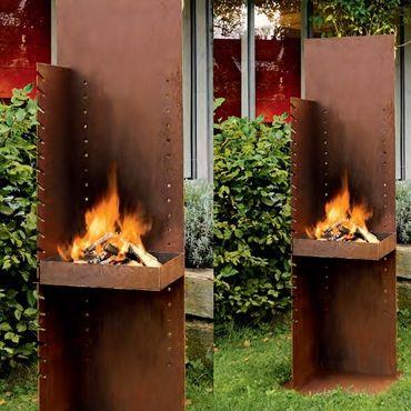 Wodkte Feuerstelle/Grill CRUSO