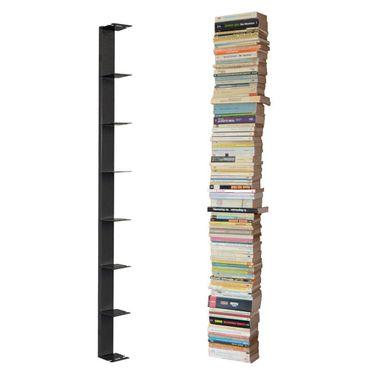 Radius Booksbaum Wandregal schwarz 2 gross - 725 a – Bild 1