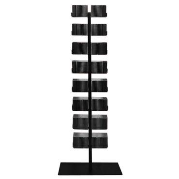 Radius CD-Baum Regal schwarz Stand 1 groß 719 A – Bild 1