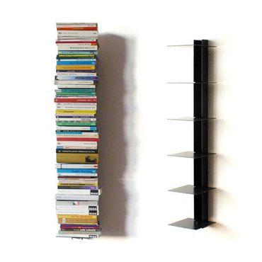 Haseform Bücherturm 90 cm (für 1 m Bücher) anthrazit Bücherregal Wandregal – Bild 1