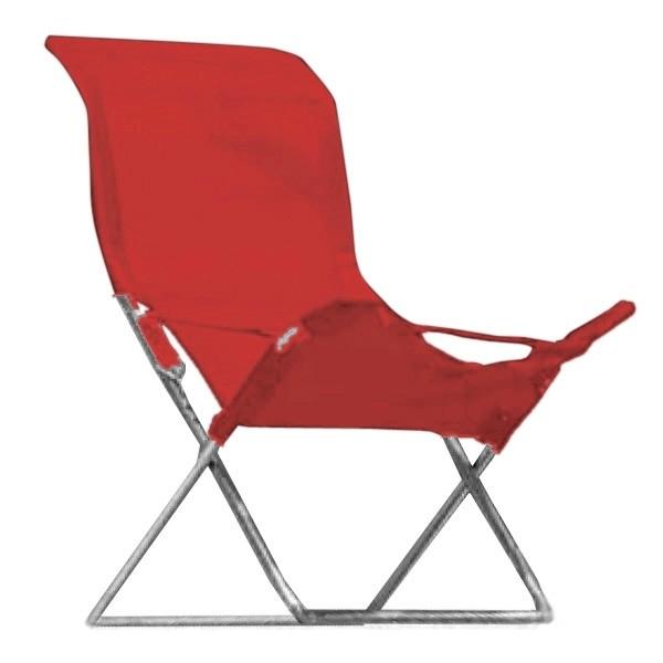 jan kurtz strandsessel fiesta rot klappbar eingang. Black Bedroom Furniture Sets. Home Design Ideas