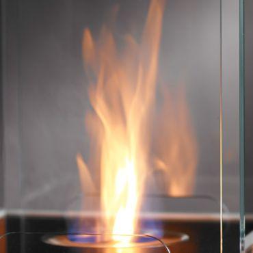 Safretti Ethanolkamin CUBE B2 schwarz 92 cm – Bild 2
