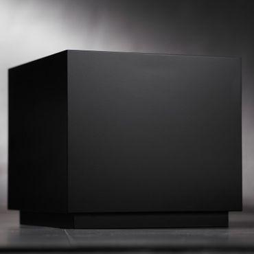 Safretti Ethanolkamin CUBE B3 schwarz 125 cm – Bild 3