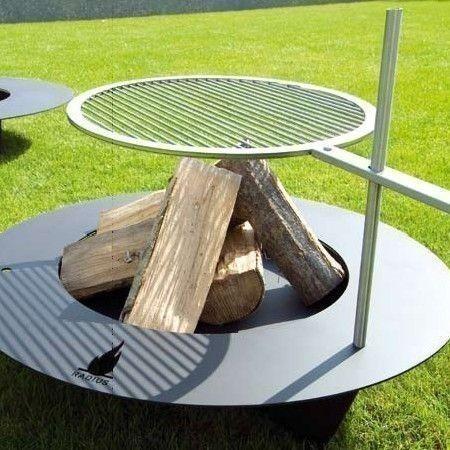 radius rost f r gro e fireplate 100cm feuerstelle. Black Bedroom Furniture Sets. Home Design Ideas