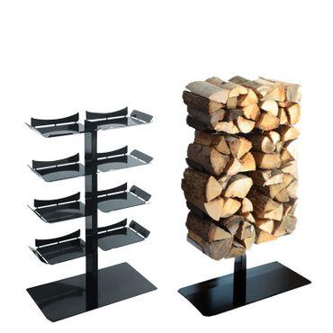 Radius Kaminholzständer Stand schwarz klein Firewood Tree - 730 a – Bild 1