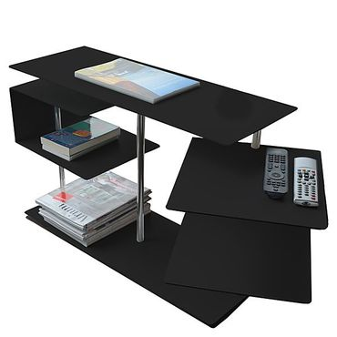 Radius Beistelltisch X-Centric 2 Table schwarz 50 x 30 x 77,5 cm - 570 e – Bild 1