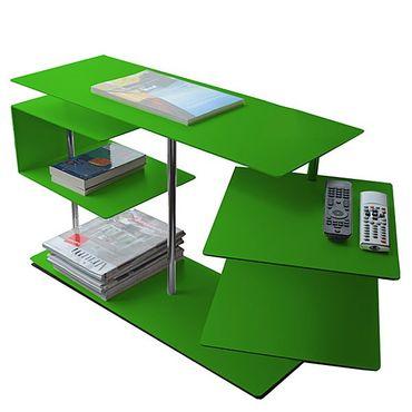 Radius Beistelltisch X-Centric 2 Table Grün 50 x 30 x 77,5 cm - 570 d – Bild 1