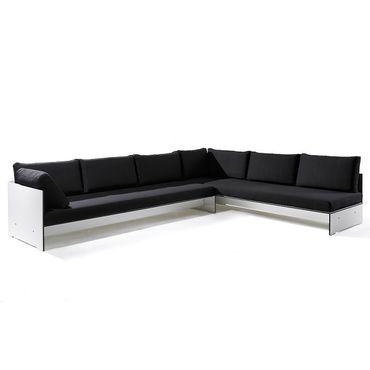 Conmoto Riva Lounge - Kombination 2 / B weiss - Sitzgarnitur - 320 cm x 240 cm – Bild 1