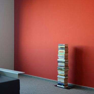 Radius Bücherregal Booksbaum 2 schwarz einreihig stehend klein - 734 a – Bild 3