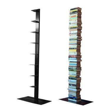 Radius Bücherregal Booksbaum 2 schwarz einreihig stehend gross - 735 a
