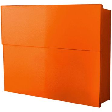 Radius Briefkasten Letterman XXL 2 Orange 562 A inkl. Zeitungsfach