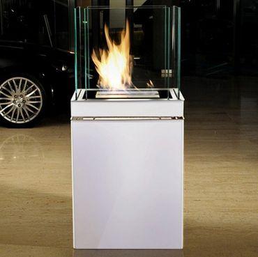 Semi Flame 3 L schwarz gebürsteter Edelstahl Ethanolkamin von Radius Design - 553 e – Bild 3