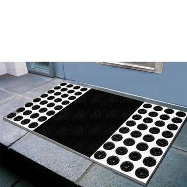 Radius Edelstahl-Fußmatte Feet Back II 78 x 39 cm - 511 a – Bild 2