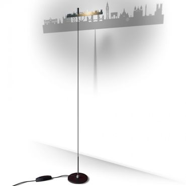 Absolut Stehleuchte Shining Image London 180 cm Lampe – Bild 1
