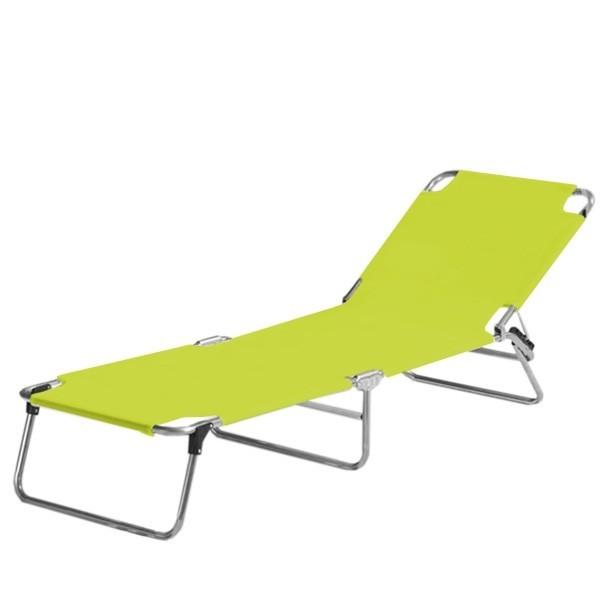 jan kurtz aluminium dreibein liege fiam amigo pistazie t v. Black Bedroom Furniture Sets. Home Design Ideas