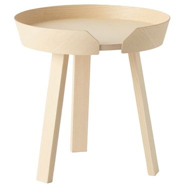 Muuto Around Coffee Table Small H 46 cm Beistelltisch in Esche 10061