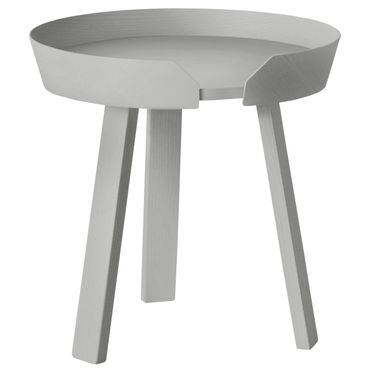 Muuto Around Coffee Table Small Grey H 46 cm Beistelltisch grau 10064