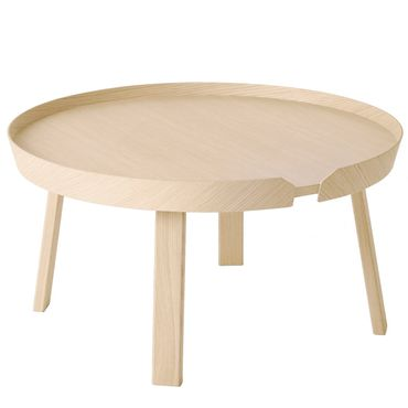 Muuto Around Coffee Table Large Beistelltisch in Esche 10071