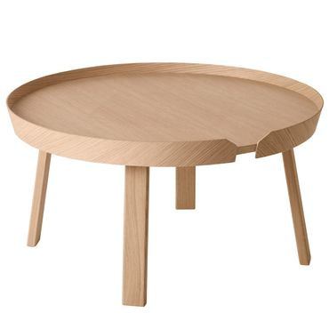 Muuto Around Coffee Table Large Eiche Beistelltisch 10072