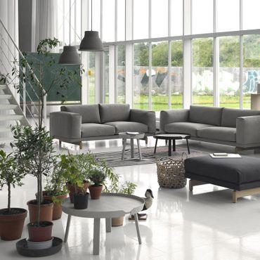Muuto Around Coffee Table Large Grey Beistelltisch grau 10074 – Bild 3