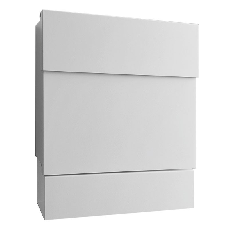 radius briefkasten letterman 5 weiss mit zeitungsrolle 561 e eingang garten briefk sten. Black Bedroom Furniture Sets. Home Design Ideas