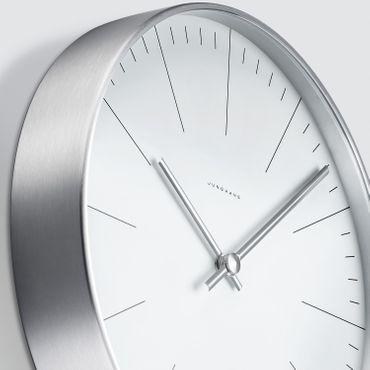 Max Bill Wanduhr Strich 22 cm Funkuhr by Junghans – Bild 4