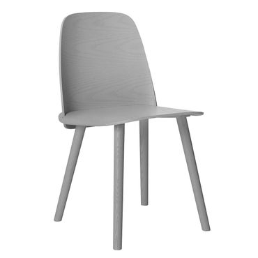 Muuto Nerd Chair by David Geckeler grey Stuhl grau 11213