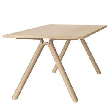 Muuto Split Table by Staffan Holm solid ork Tisch Eiche 11402