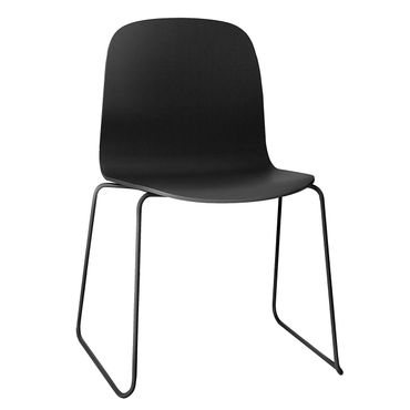 Muuto Visu Chair by Mika Tolvanen black Kufenstuhl schwarz 11452