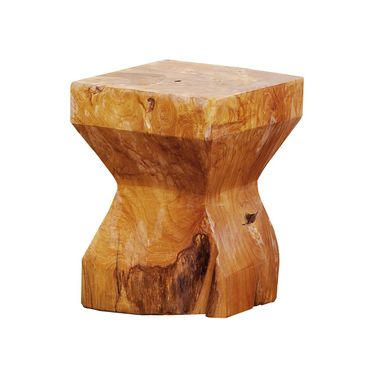 Jan Kurtz Diabolo Hocker eckig Teak  495605