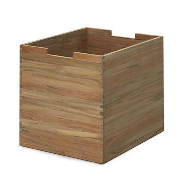 Skagerak Cutter Box groß mit Rollen Teak S1920420