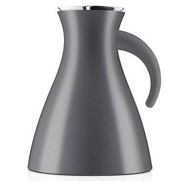 Eva Solo Isolierkanne low 1,0 l grey Thermoskanne 502944