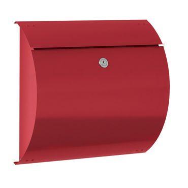 Max Knobloch Briefkasten Honolulu feuerrot (RAL 3000) 10 Liter Wandbriefkasten