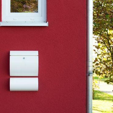 Max Knobloch Briefkasten Honolulu weiß (RAL 9010) 10 Liter Wandbriefkasten – Bild 2