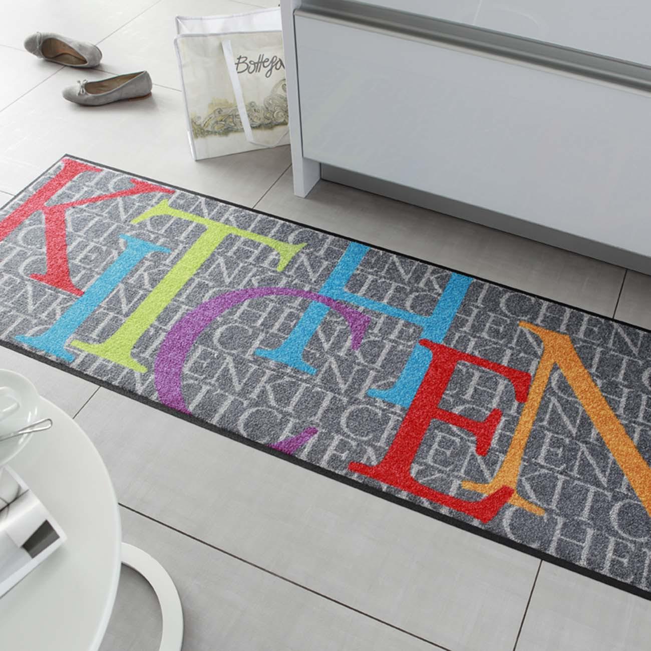 salonloewe fußmatte waschbar kitchen news 60x180 cm sld0339 ... - Fußmatte Küche