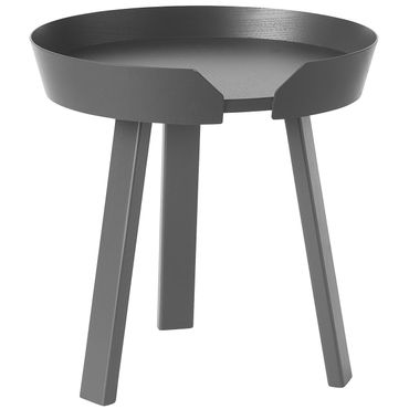 Muuto Around Coffee Table Small Anthracite H 46 cm Beistelltisch anthrazit 10067
