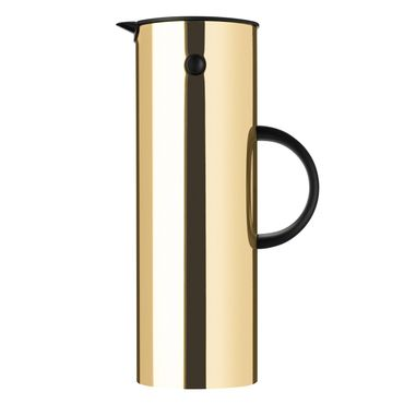 Stelton Isolierkanne 1 L Brass 900-3 Messing Thermoskanne
