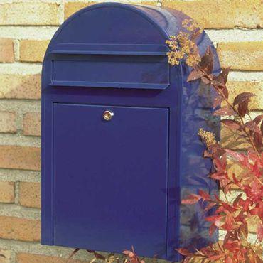 Bobi Classic Briefkasten RAL 5003 blau Wandbriefkasten – Bild 4