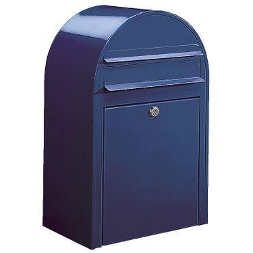 Bobi Classic Briefkasten RAL 5003 blau Wandbriefkasten