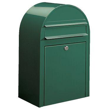 Bobi Classic Briefkasten RAL 6005 grün Wandbriefkasten – Bild 1