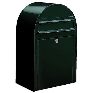 Bobi Classic Briefkasten COL 6064 schwarzgrün Wandbriefkasten – Bild 1