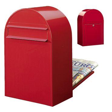 Bobi Classic B Briefkasten RAL 3001 rot Zaunbriefkasten – Bild 1