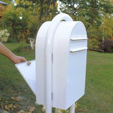 Bobi Classic B Briefkasten COL 6064 schwarzgrün Zaunbriefkasten – Bild 4