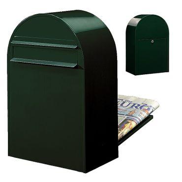 Bobi Classic B Briefkasten COL 6064 schwarzgrün Zaunbriefkasten – Bild 1