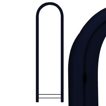Bobi Round RAL 5004 schwarzblau Briefkastenständer – Bild 2
