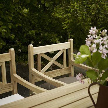 Skagerak Skagen Tisch Gartentisch Teak 140x78x73 cm – Bild 3