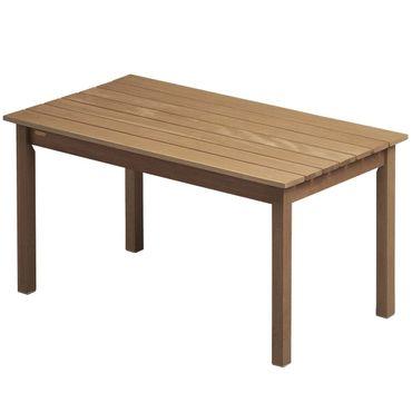 Skagerak Skagen Tisch Gartentisch Teak 140x78x73 cm – Bild 1