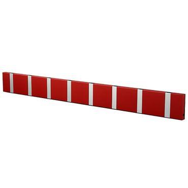 LoCa Garderobe Knax 8 imperial rot (Haken klappbar Alu)