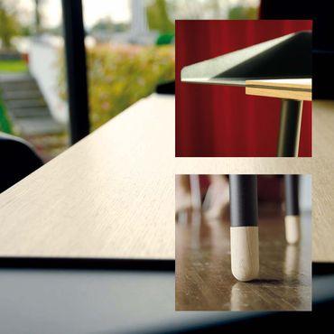 Radius Design Miss Moneypenny Schreibtisch mit Stuhl MU weiss - 755 B+120 E  – Bild 3